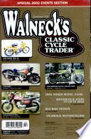 WALNECK S CLASSIC CYCLE TRADER  FEBRUARY 2002 Book