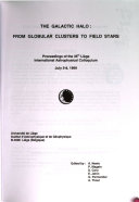 Proceedings Of The Li Ge International Astrophysical Colloquium
