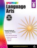 Spectrum Language Arts, Grade 8