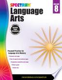 """Spectrum Language Arts, Grade 8"" by Spectrum"