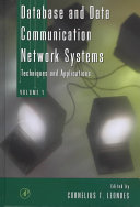 Database and data communication network systems