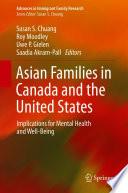 Öffnen Sie das Medium Asian families in Canada and the United States von Chuang, Susan S. [Herausgeber] im Bibliothekskatalog