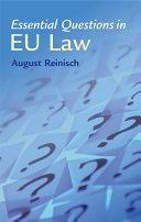 Essential Questions in EU Law