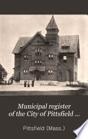 Municipal Register of the City of Pittsfield     Book PDF