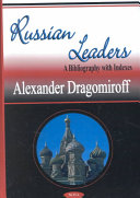 Russian Leaders: A Bibliography with Indexes - Seite 1