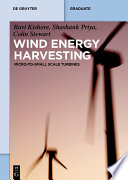 Wind Energy Harvesting Book PDF