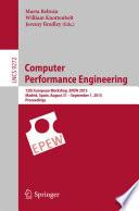 Computer Performance Engineering Book