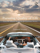 Pursuing Quality of Life: From the Affluent Society to the ...