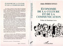 Pdf Economie de la culture et de la communication Telecharger