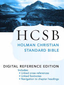 The Holy Bible: HCSB Digital Reference Edition Book