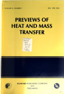 Previews of Heat and Mass Transfer Book