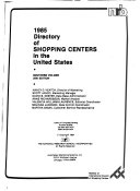 Directory of Shopping Centers in the United States
