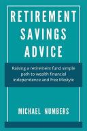 Retirement Savings Advice