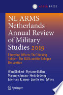 Nl Arms Netherlands Annual Review Of Military Studies 2019