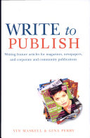 Write to Publish