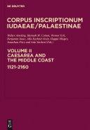 Caesarea and the Middle Coast: 1121-2160 [Pdf/ePub] eBook