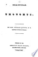 Christian Library Nevins William Practical Thoughts