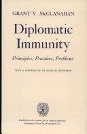 Free Diplomatic Immunity Book