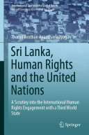 Sri Lanka, Human Rights and the United Nations