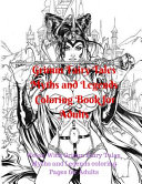 Grimm Fairy Tales Myths and Legends Coloring Book for Adults