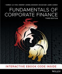 Cover of Fundamentals of Corporate Finance, 3rd Edition Hybrid