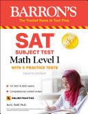 SAT Subject Test Math Level 1 Book