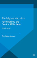 Pdf Performativity and Event in 1960s Japan Telecharger