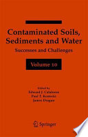 Contaminated Soils  Sediments and Water Volume 10