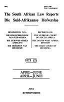 Suid Afrikaanse Hofverslae Book