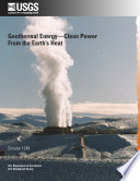 Geothermal Energy  Clean Power from the Earth   s Heat