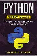 Python For Data Analisys Book PDF