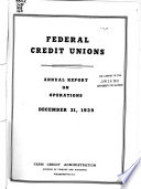 Annual Report of the National Credit Union Administration