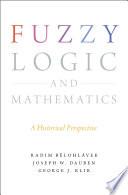 Fuzzy Logic and Mathematics Book
