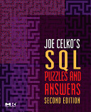 Joe Celko s SQL Puzzles   Answers Book