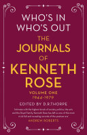 Who's In, Who's Out: The Journal and Letters of Kenneth Rose