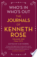 Who's In, Who's Out: The Journals of Kenneth Rose