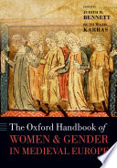 The Oxford Handbook of Women and Gender in Medieval Europe Book