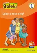Books - Oxford Speak Sepedi Grade 1 Reader 1 | ISBN 9780190415822