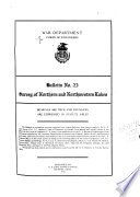Bulletin of the Northern and Northwestern Lake Survey