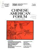 Chinese American Forum Book PDF