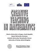 Creative Teaching in Mathematics