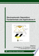 Electrophoretic Deposition: Fundamentals and Applications V