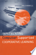 Implementing Computing Supported Cooperative Learning Book PDF