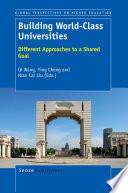 Building World Class Universities