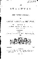 Statutes at Large ...: (29 v. in 32) Statutes or the United Kingdom, 1801-1806; [1807-1832 ebook