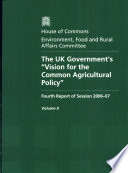 The Uk Government S Vision For The Common Agricultural Policy