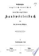 Vollständigstes englisch-deutsches und deutsch-englisches Handwörterbuch