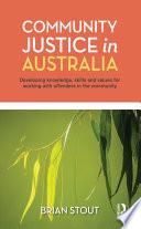 Community Justice in Australia