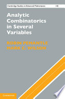Analytic Combinatorics in Several Variables