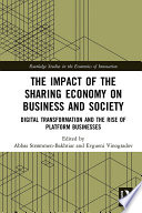 The Impact of the Sharing Economy on Business and Society Book